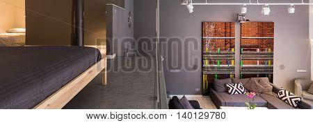 Entresol In Modern House