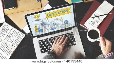 Motivation Aspiration Expectations Inspire Concept
