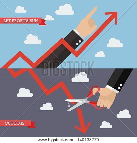 Strategy of Technical Analysis . Business concept