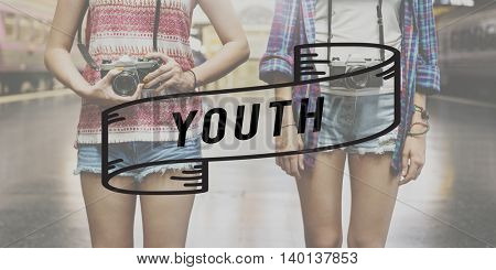 Youth Culture Young Generation Lifestyle Child Concept