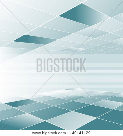 Blue low poly polygon tiles floor ceiling wallpaper texture background design wallpaper abstract