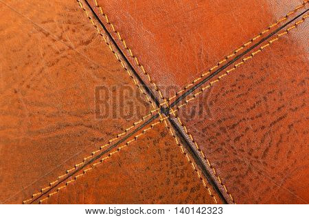 Natural Leather Background