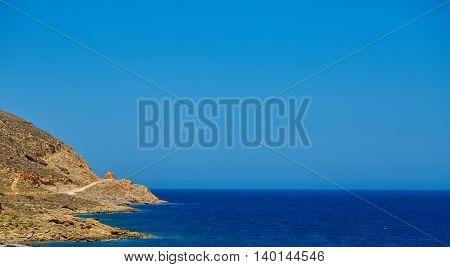 panoramic view on Balos beach, Crete, Greece