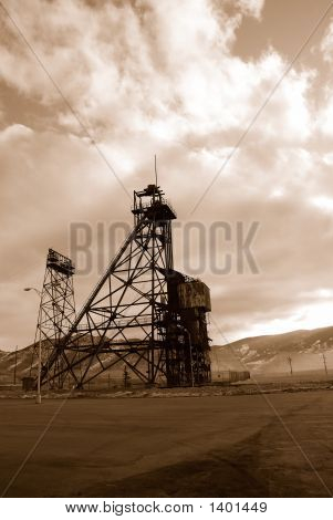 Butte Mining Tower