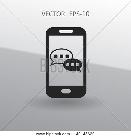 mobile chatting icon