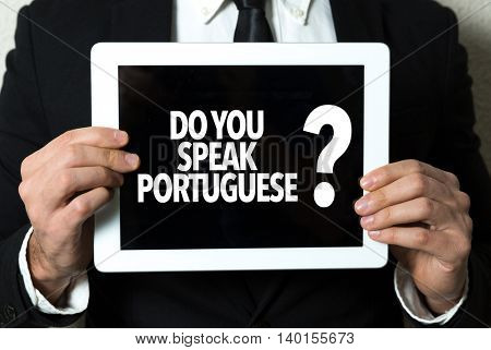 Do You Speak Portuguese?