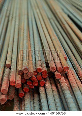Rusty Metal Rods