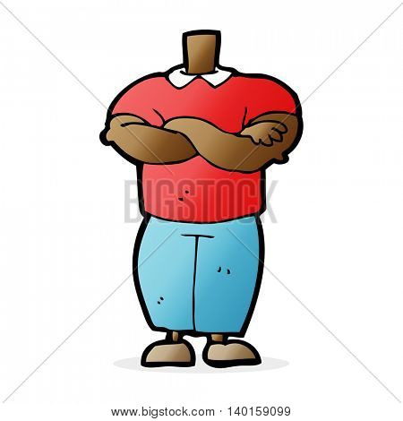 cartoon body (mix and match cartoons or add photo faces)