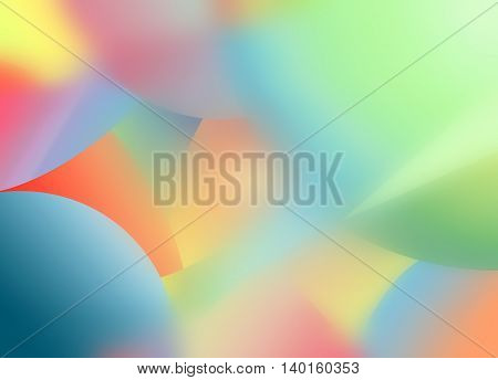 Background Abstract Glow Design