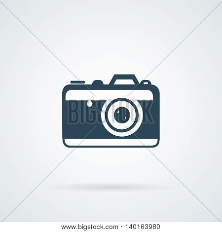 Camera Icon vector illustration isolated on white background