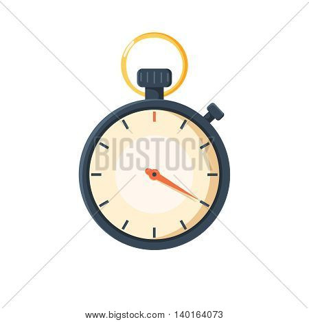 Stopwatch Icon vector illustration isolated on white background