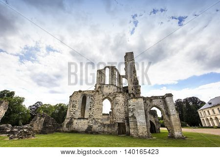 Primatice Chapel, Chaalis Abbey, Chaalis, France