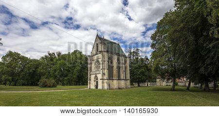 Primatice Chapel, Chaalis Abbey, Chaalis, France
