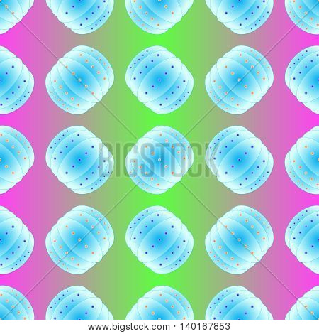 Bubble bump football equipment the seamless pattern.