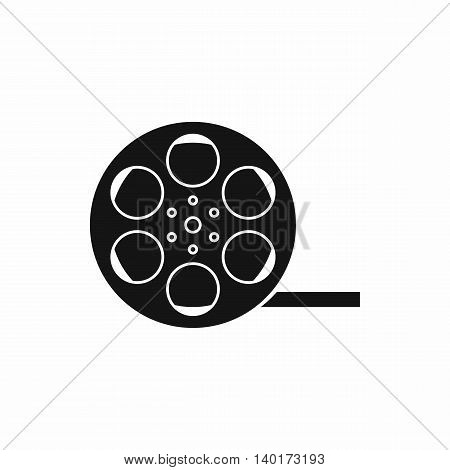 Film icon in simple style isolated on white background. Video symbol