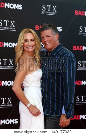 LOS ANGELES - JUL 26:  Taylor Armstrong, John H Bluher at the