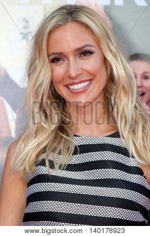 LOS ANGELES - JUL 26:  Kristin Cavallari at the