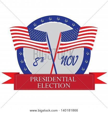 Election Day, Vector Illustration