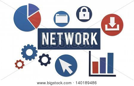 Network Networking Internet Connection Concept