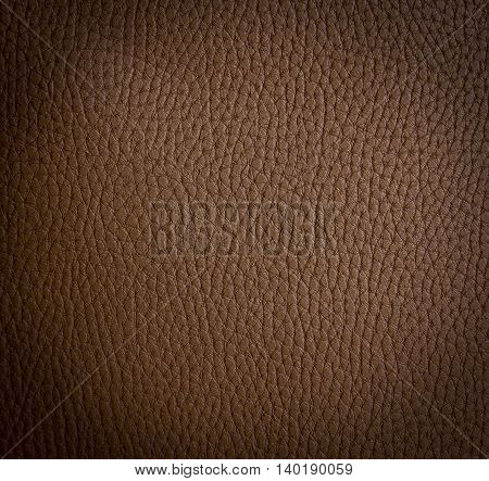 Leather texture brown color that can be used as background