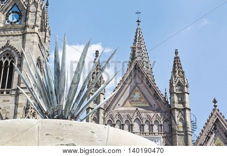 The Expiatorio church of Guadalajara Jalisco Mexico