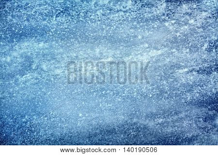 manipulated background image of close up frozen ground