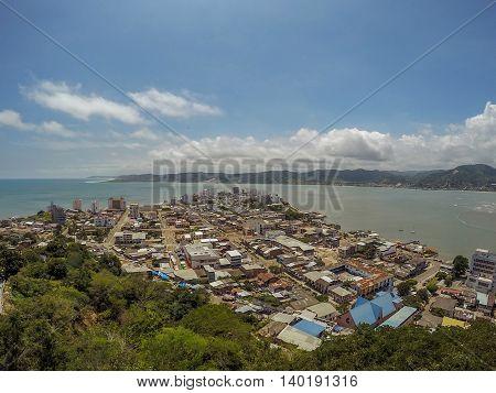 Bahia De Caraquez, Officially Known AsSan Antonio De Caraquez, South America And Founded Under The Name OfVilla De San Antonio De La Bahia De CaraquezOr Simply Known Today AsBahia
