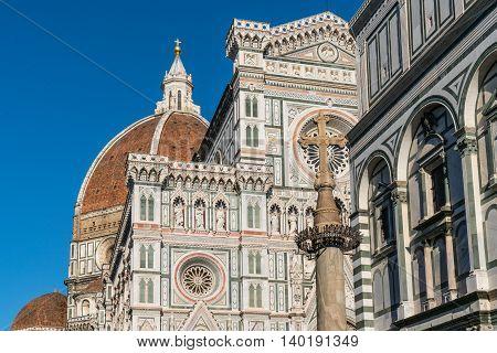Cattedrale di Santa Maria del Fiore in Florence Italy