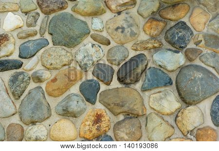 stone wall texture, rocks background for landscaping