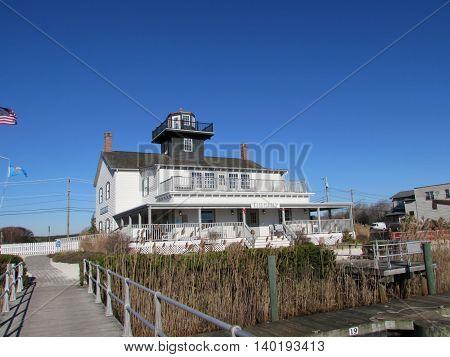 Tuckerton  Lighthouse,  Tuckerton  Seaport, Tuckerton,  New  Jersey.
