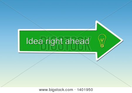 Idea Right Ahead