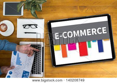 E-commerce Internet Global Marketing Shopping
