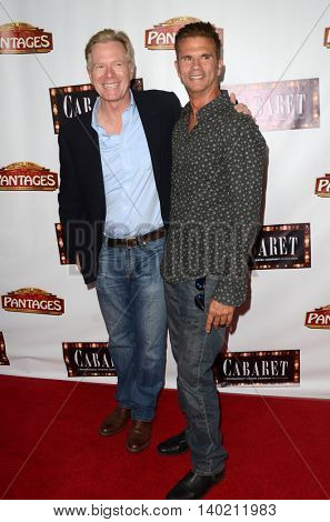 LOS ANGELES - JUL 20:  William R Moses, Lorenzo Lamas at the