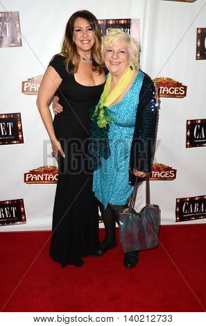 LOS ANGELES - JUL 20:  Joely Fisher, Renee Taylor at the