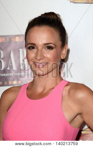 LOS ANGELES - JUL 20:  Emily Padgett at the
