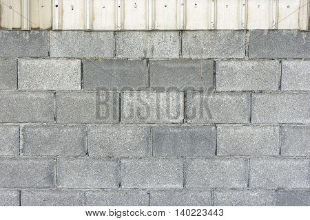 Background cement and sheet metal for architect and building or Construction Business