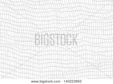 bandage or gauze closeup on white background