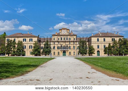 Ducal Palace in city Parma Emilia-Romagna Italy