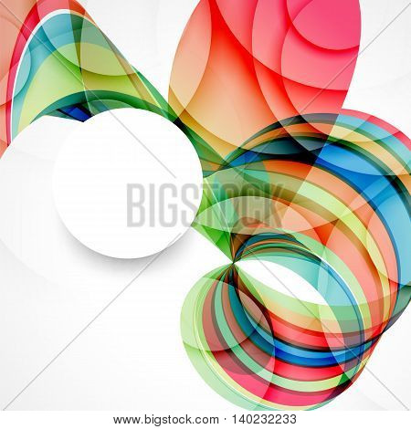 Abstract background with color waves can be used for business presentations flyer website background brochure cover