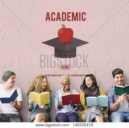 Academic Education Graduation Successful College Concept