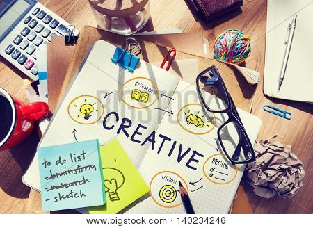 Creative Creativity Innovation Design Vision Concept