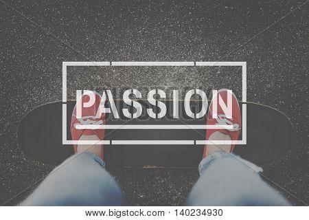 Passion Spirit Mind Interest Concept