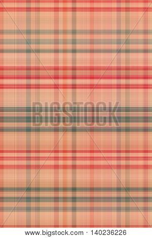Seamless Plaid Fabric Loincloth With Stripes Color Abstract Background Pattern Texture
