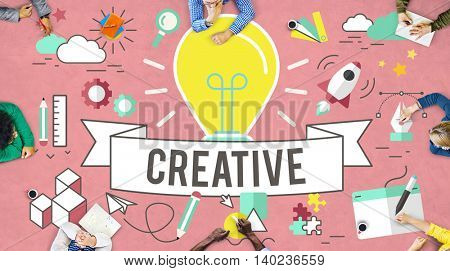 Creative Ideas Style Inspiration Design Concept