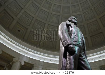 Jefferson Towering Over