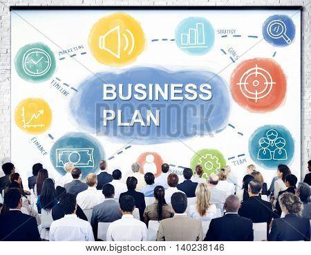 Business Seminar Business Plan Concept