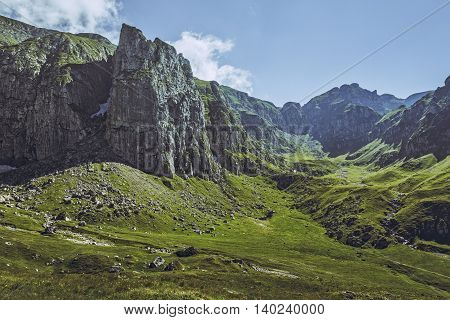 Malaiesti Valley, Bucegi Mountains, Romania