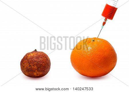 Gmo. Modified Fruits