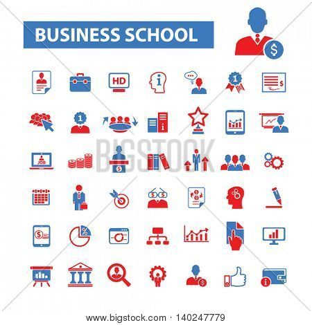 business school icons