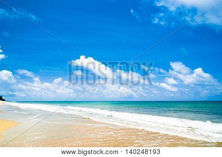 Remote Resort On a Beach